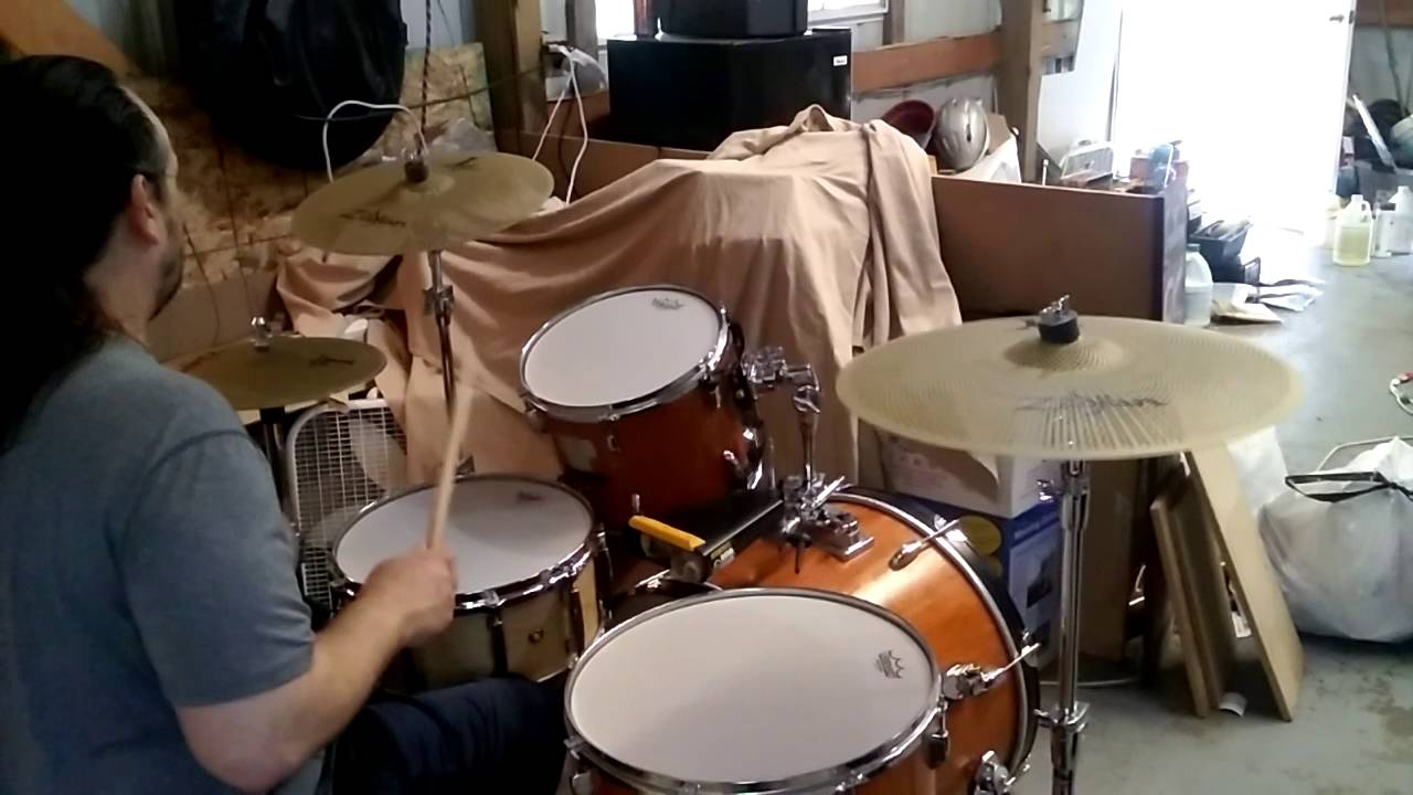 remo silentstroke drum heads and zildjian l80 low volume cymbals demo youtube. Black Bedroom Furniture Sets. Home Design Ideas
