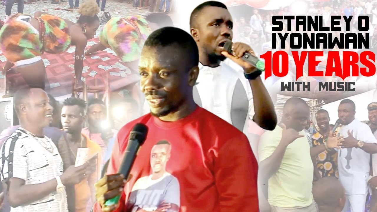 Download STANLEY O IYONANWAN - 10 YEARS WITH MUSIC [LATEST BENIN MUSIC LIVE ON STAGE 2021]