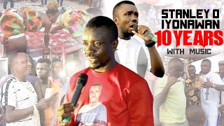 STANLEY O IYONANWAN - 10 YEARS WITH MUSIC [LATEST BENIN MUSIC LIVE ON STAGE 2021]
