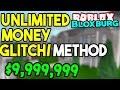 BloxBurg - Unlimited Money GLITCH/METHOD *2018* | ROBLOX