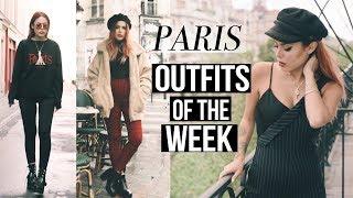 FIVE OUTFITS IN PARIS - LOOKBOOK