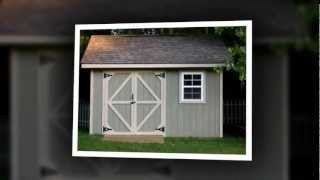 Build Your Own Shed - Wood Shed Plans