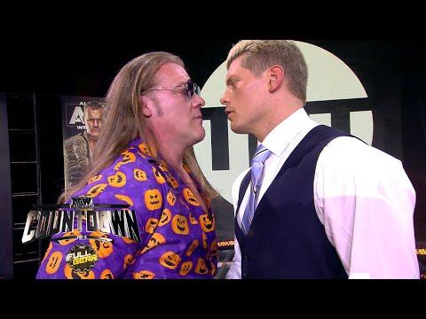 AEW COUNTDOWN: FULL GEAR FINAL CODY vs CHRIS JERICHO