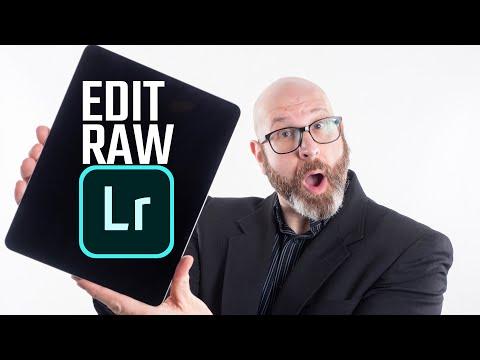 IPad Photography Workflow: How To Edit Raw Files On IPad Pro W/ Lightroom