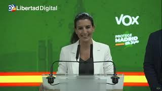 Rocío Monasterio afirma que Vox facilitará la investidura a Díaz Ayuso