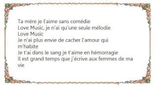 Kery James - Love Music Lyrics