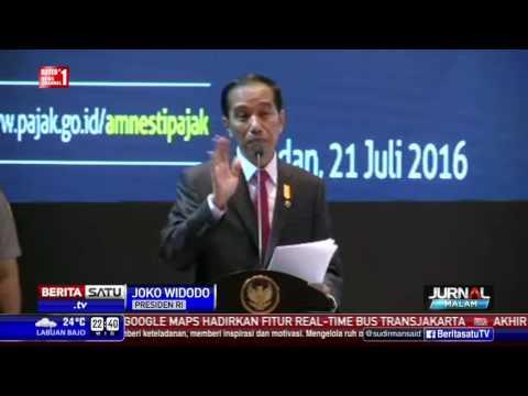 Jokowi Sosialisasi Tax Amnesty di Medan, 4000 Pengusaha Hadir