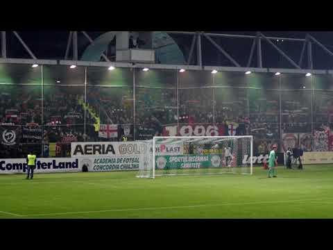 Fanii dinamovisti la Chiajna-Dinamo 3-4