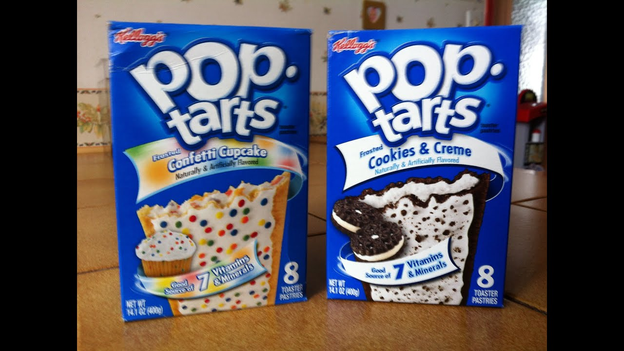 pop tarts confetti cupcake et pop tarts cookies and creme