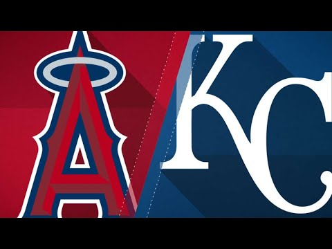 Trio of homers back Angels over Royals: 4/14/18