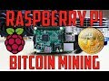 Raspberry Pi: Bitcoin mining - YouTube