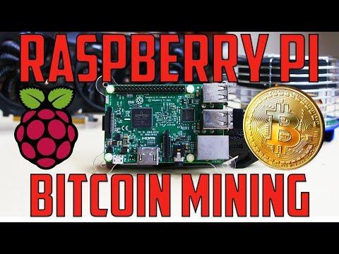Raspberry Pi 3+ Bitcoin Mining (Bitmain AntMiner U3)