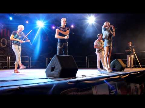 Olia Tira & SunStroke Project - Superman & Run Away - Live from Comrat, Moldova, 23.06.2012