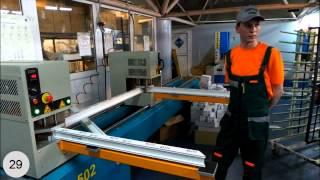 Знатные Окна - мастер-класс, производство окон ПВХ(Мастер-класс от фирмы Знатные Окна - производство пластиковых окон., 2013-07-01T19:47:30.000Z)