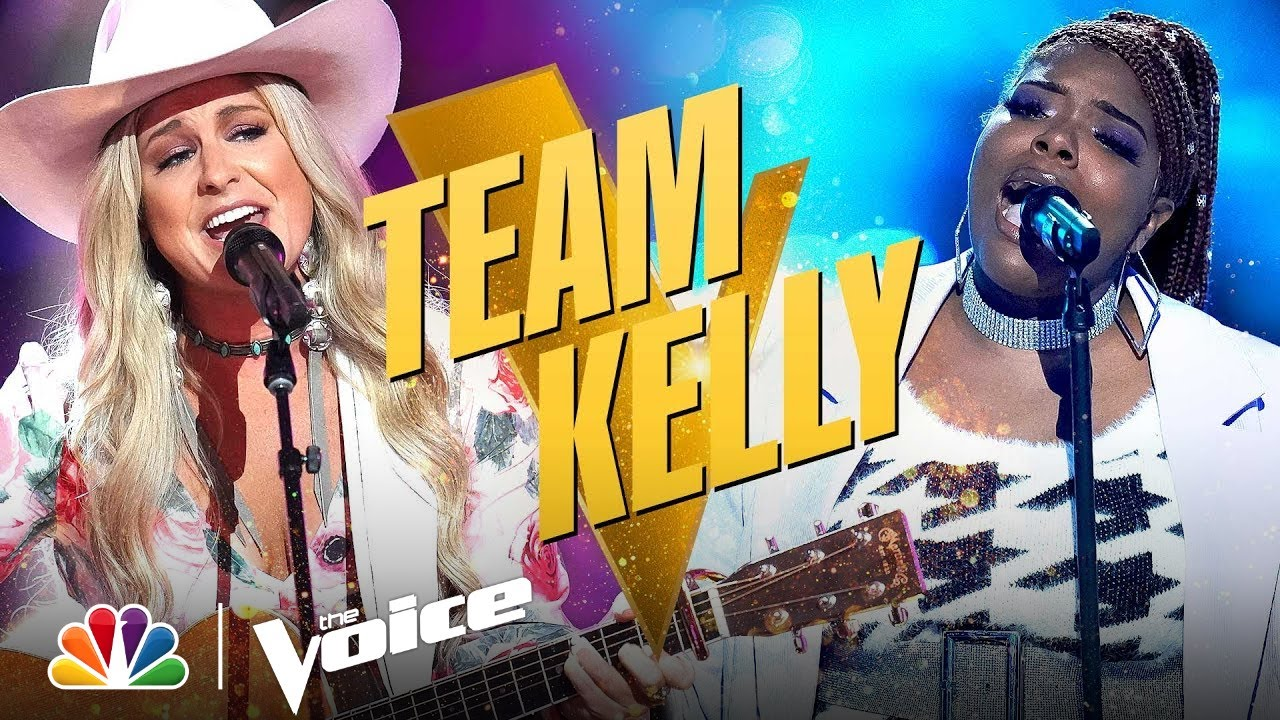 Download Wonderful and Very Different Performances from Team Kelly's Gymani and Kinsey Rose   Voice Knockouts