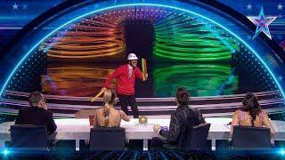 El italiano NICOLA VIRDIS te hará REÍR con sus chistes | Semifinal 4 | Got Talent España 5 (2019)