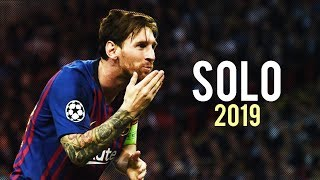 Lionel Messi ► Solo ●  Skills & Goals 2018/2019 | HD
