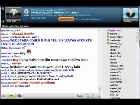 Young EPLF Paltalk Chat Room 7/09/2012