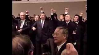 校歌乙 2013群馬県立太田高校(旧制中学)金山同窓会新年会・懇親会