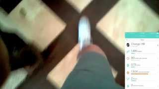 Fitbit Charge HR - Ankle Test - Step Count - Walking