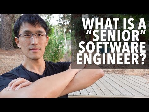 What is a senior software engineer?  The difference between junior and senior engineers