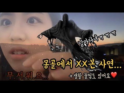 🇲🇳공포!몽골에서XX본 사연/꿀팁 생정까지!!!!!