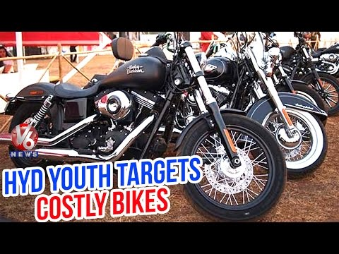 Hyderabad Youth Interested in Costly Bikes