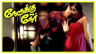 Nerukku Ner Movie Scenes   Vijay Simran Love Scene   Shanti brings her daughter home   Suriya