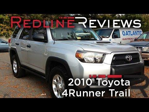 2010 Toyota 4Runner Trail Review, Walkaround, Exhaust, Test Drive   YouTube
