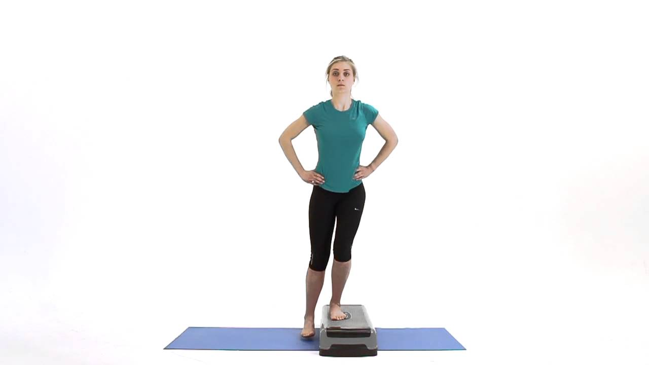 Side Step Up (10 Reps) - YouTube  Side Step Up (1...
