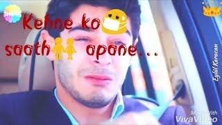 Kehne ko saath apane ek duniya chalti hai || Sad WhatsApp status song || J-Series