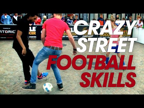 Crazy Street football Skills - Easy Man Skills part 1