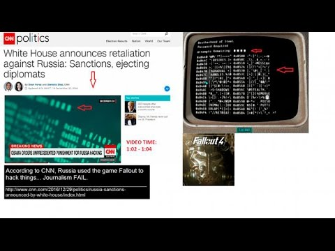 #FakeNews level up: CNN caught using screengrabs from Fallout 4 in 'Russian Hack' story