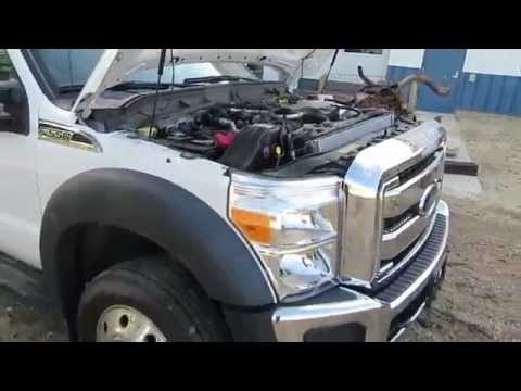 Repairable Salvage 2013 Ford F550 4x4 Rollback Flatbed