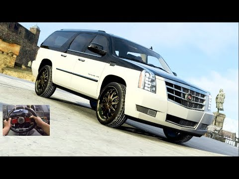 "Forza Horizon 4 GoPro : 24"" DUB Edition Caddy Escalade ESV Build/Customization thumbnail"