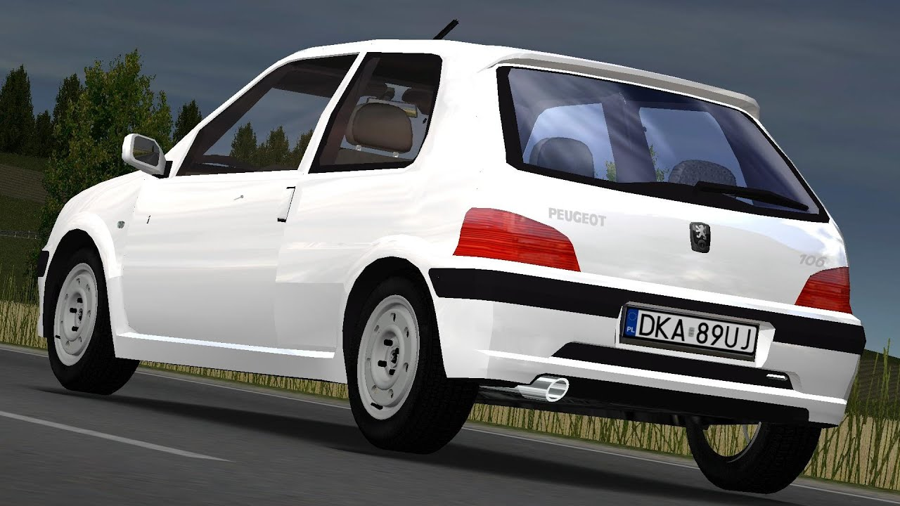 Peugeot 106 1.5D \'02 drive (Links) - Racer: free game - YouTube