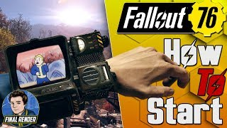 Fallout 76 BETA! - BEST WAY TO START! DOWNLOAD ON XBOX NOW