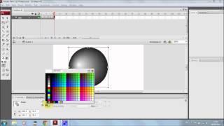 Урок №2 по программе Adobe Flash CS3