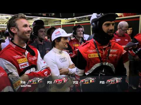 NEVER GIVE UP AUDI WRT TOTAL 24 hours of SPA