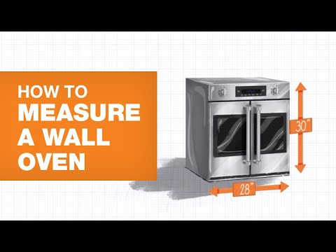 How to Measure a Wall Oven for Your Kitchen