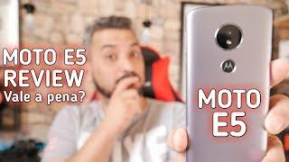 MOTO E5 REVIEW E ANÁLISE do SMARTPHONE BÁSICO DA MOTOROLA - VALE A PENA COMPRAR?