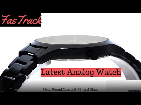 Fastrack Latest & Trending Black Dial Analog Watch For Men 2020 II Unboxing & Review 🔥🔥🔥