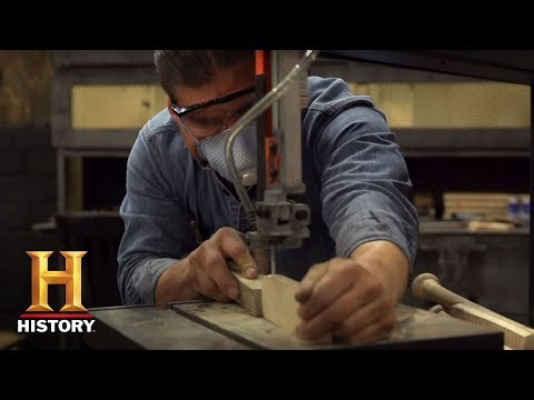 Forged in Fire: Bladesmithing 101: Handle Materials