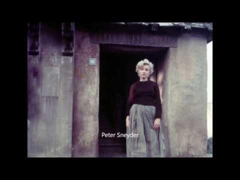 Marilyn Monroe - The Dutch Girl Sitting 1956, by Milton Greene