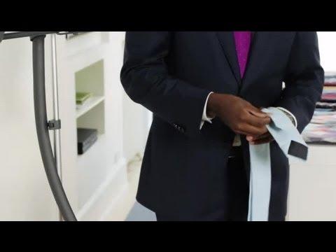 How to Get Wrinkles Out of Neckties : Neckties & Bow Ties