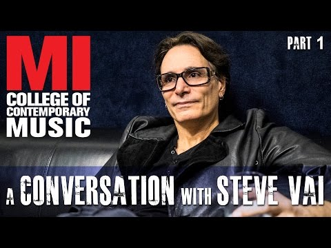 Conversation w Steve Vai Part 1