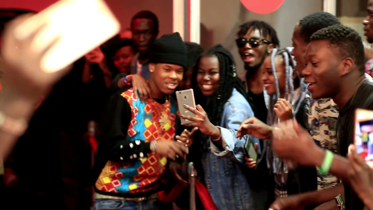Nasty C Hairstyle: Nasty C And Runtown Arrived For Their Performance In Style