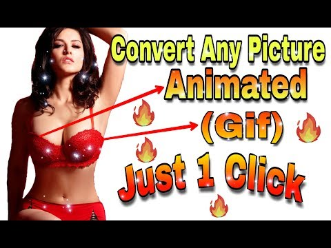 How To Convert  Any Picture  Animated (gif) Picture || Best Android App, Unique Android App, 2018