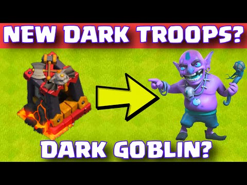 Clash Of Clans NEW DARK ELIXIR TROOPS? | CoC New Update 2015 Discussion