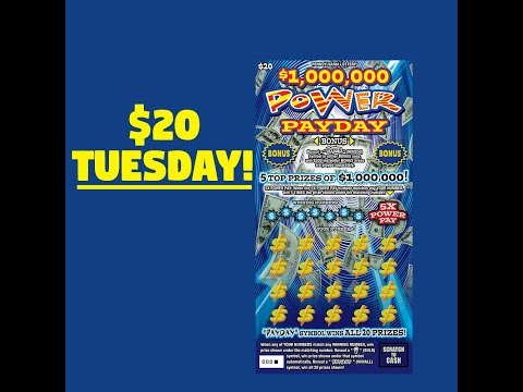 PA Lottery Scratch Off Ticket: $20 Power Payday